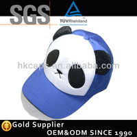 High quality adult animal panda hat/cute animal winter hats