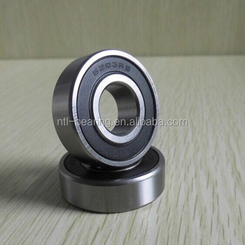 China Supplier Top Quality deep groove bearing 6203-2rs with comepetitive