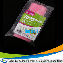 YiWu huikai plastic bags garbage plastic bag household goods reusable garbage bag on roll