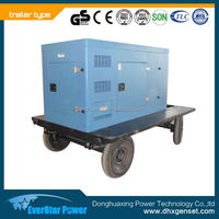 Factory sale powered by VOLVO engine (TAD1344GE) 455kva portable diesel generator price