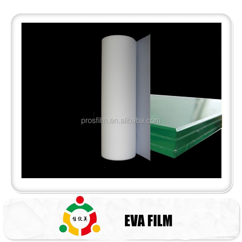 2017No Glue Flow UV Cut- off Super Clear EVA Interlayer Film For Laminated Glass/thickness of 0.45mm