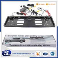 waterproof car camera backup European License Plate Parking Sensor with HD Rear View Camera Rearview system car reverse sensor