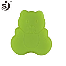 Food Grade Wholesale Cute Bear Silicone Bear Shaped Silicone Baking Cake Mold For Cake