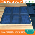 30W 40W 60W foldable solar laptop charger 5v/12v/16v/19v