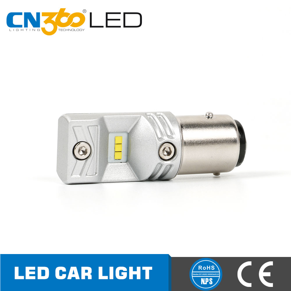 Automotive lighting 760lm 12 volt led auto bulb car p21 1157 light bulb