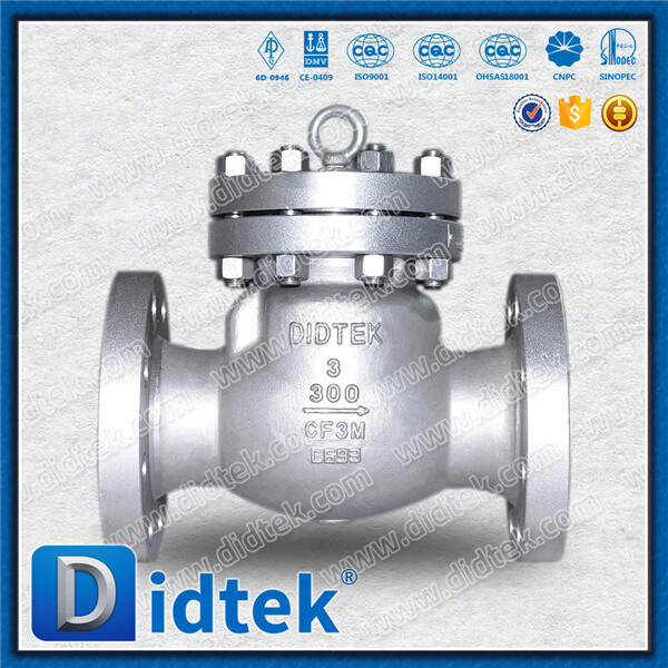 DIDTEK Supply BS1868 Check Valve Casting For <strong>Gas</strong>