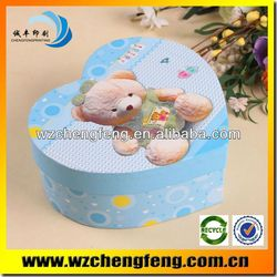 Customizable heart shape box packing alibaba china