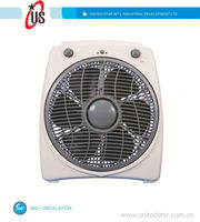 8inch/10inch/12inch box fan turbo fan turbo fan blade with 360 oscillation