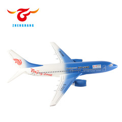 good design boeing B787 scale plane models chinese new year decoration items for display