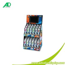 Countertop POP/POS Display/Modern design cardboard display rack with LCD