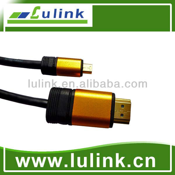 New Metal casing type Micro HDMI cable