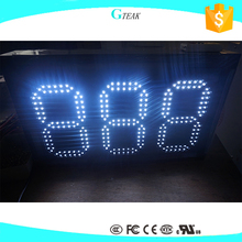 remote control 6 inch display digital led counter