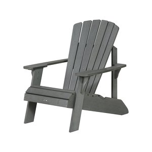 PP material Adirondack chair outdoor garden beach plastic chairs