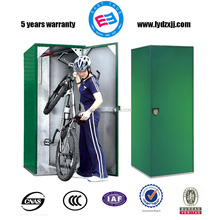 metal bicycle locker/vertical stainless steel bike locker