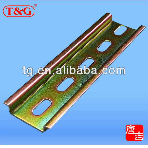 Zinc Plated 35 x 7.5mm Din Mounting Rail