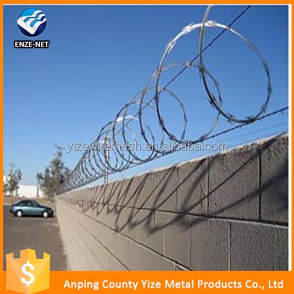 Alibaba China Trade Assurance Iso9001 Galvanized Razor Wire Bto-22 ...
