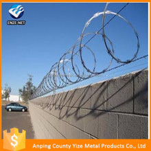 Alibaba China Trade Assurance ISO9001 Galvanized Razor Wire BTO-22\CBT-65\Razor barbed wire\concertina razor wire (Factory)