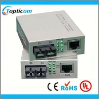 10/100/1000M MC1000-SFP-FP 70KM microwave transmitter and receiver