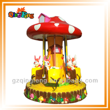 HR-QF022 fun Amusement park animal electric kids mini kitchen carousel
