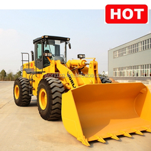 5 ton professional Building construction tools wheel loader with grapple