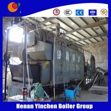 Direct Manufacturer!!! solid fuel operated half cylindrical 3 pass steam boiler
