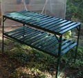 garden aluminium greenhouse used portable staging