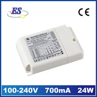 7W-20W Pushing Dimming LED Driver,250mA/350mA/400mA/450mA/500mA/550mA/600mA/700mA LED Power Supply,1-10V Dimming