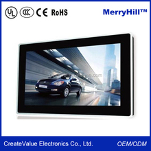 46 55 inch wall mounted DID LCD video wall support1080p digital signage with HDMI