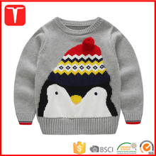 Cute designs pullover sweater boy baby jumper