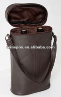 All pu leather wine bag,wine tote,wine carrier,wine holder,two bottle wine bag,wine gift