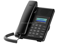 2 SIP lines ip phone,support PoE ,3 way call conference and backup SIP proxy servers