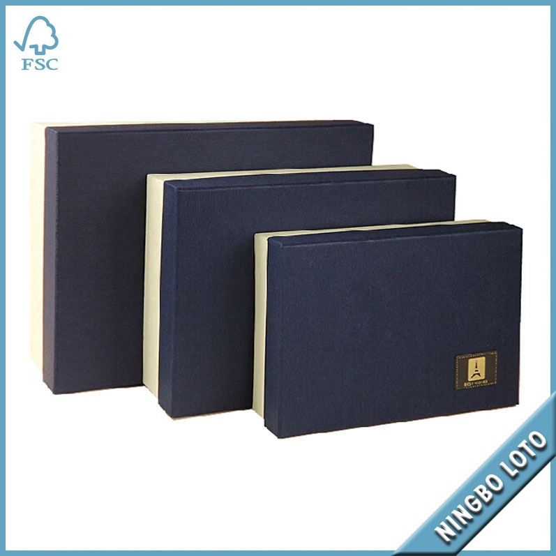 Professional factory supply good quality cosmetic paper box packaging