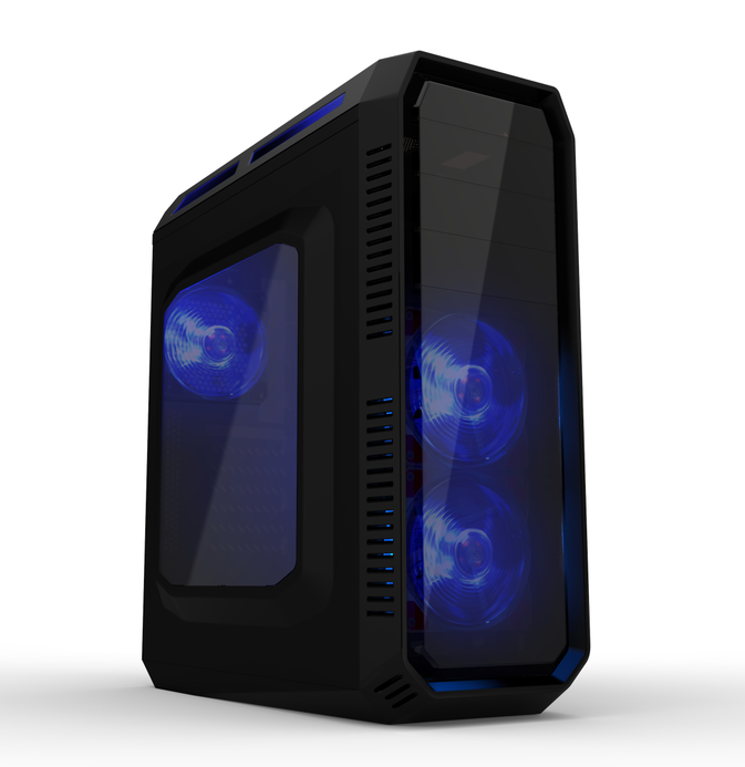OEM Best Quality Acrylic ATX Gaming PC Case for Gamer