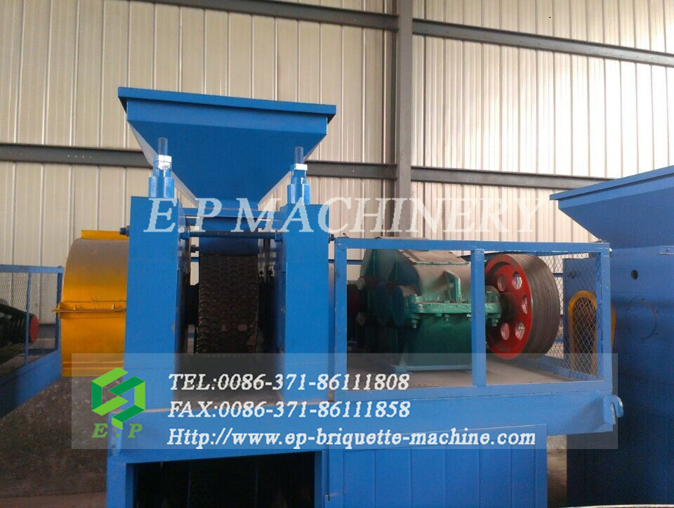A Complete Full Automation Set of Mineral Powder Briquetting Plant