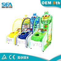 HM-L02-A 2015 Guangzhou factory funny arcade basketball game machine coin operated game machine