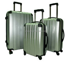 abs luggage bag 2014 hot selling super light trolley lugage set