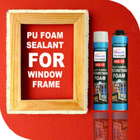 OEM low temperature one component quick dry weather-tight pu foam sealant