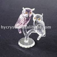 3d crystal laser birds figurines