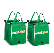 Standard Size Promotional gift Vegetable Supermarket Shopping Cart Trolley Bag