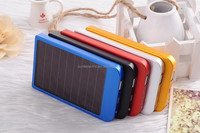 Solar power bank 500mah charger Mobile External Power Bank Station