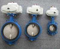Concentric ALL-RUBBER Lined Motorized Butterfly Valve