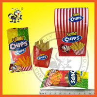 Chips ( Lamon Flavor ) Gummy Soft Candy
