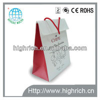 musical paper bags with full color printing for promotions