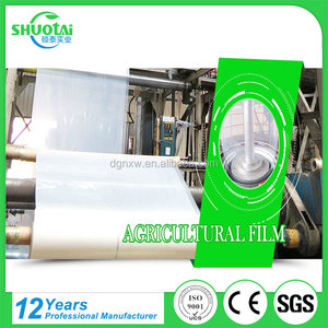 Ground protection mat pe stretch agriculture plastic mulching film transparent pet biodegradable film