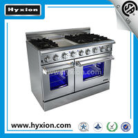 hot new 48inch 6 burner dual oven appliances for kitchen
