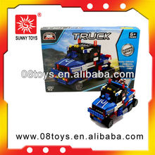 New design car cheap toy building block