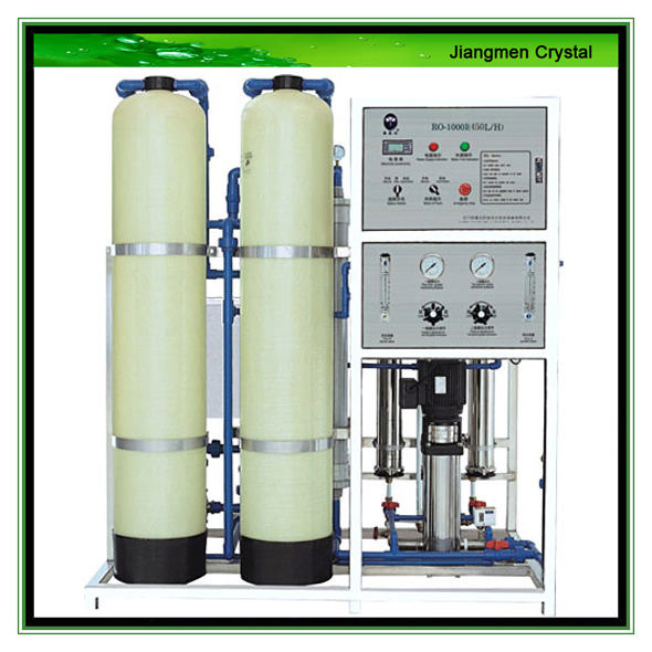 450L/H Reverse Osmosis system purified water treatment equipment