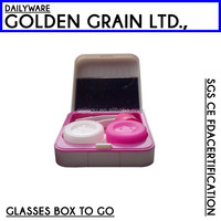 promotional popular gift contact len cases for best sale