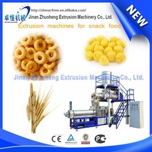 Automatic puffed baked grain/rice/corn snack production machines