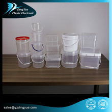 1l~8L HDPE plastic buckets for food storage Multiple Colors availble